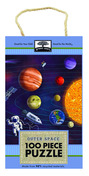 green start 100 piece puzzle: outer space