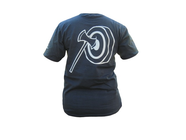 Gransfors Axe T-Shirt-Navy picture