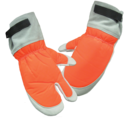 Protective Chain Saw Mitts