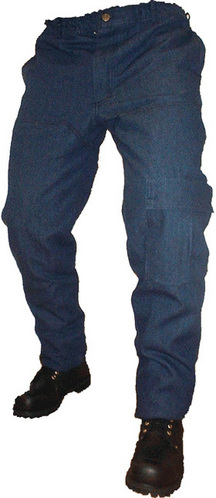 Chain Saw Protective Pants - Denim picture
