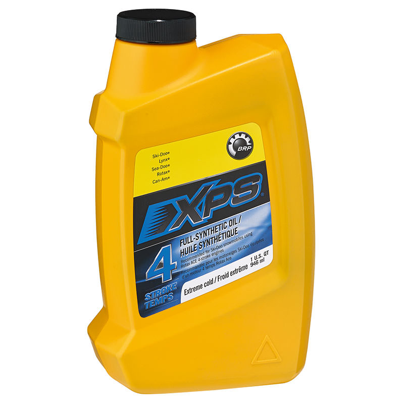 Ski doo xps 4 stroke synthetic oil extreme cold grade for What motor oil is best for cold weather