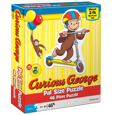 Curious George  Pal Size Puzzle picture