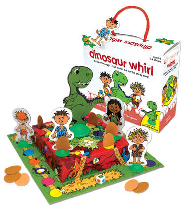 Dinosaur Whirl Game picture
