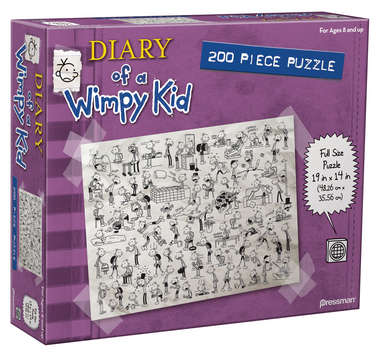 Diary of a Wimpy Kid 200 pc Puzzle picture
