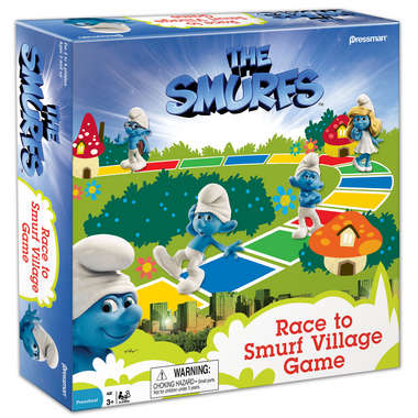 The Smurfs Race to Smurf Village Game picture
