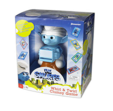 The Smurfs Whirl and Twirl Clumsy Game picture