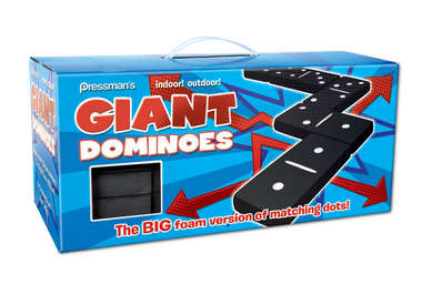 Giant Black & White Dominoes picture