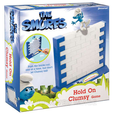 The Smurfs Hold On Clumsy! picture