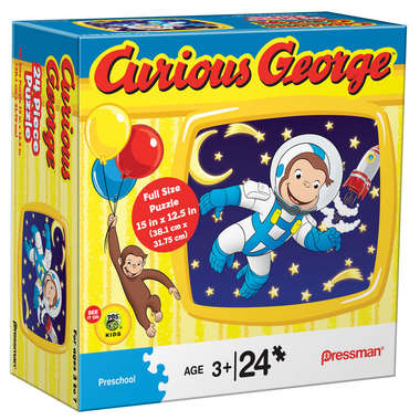 Curious George™ 24 pc Puzzle picture
