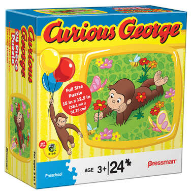Curious George 24 pc Puzzle picture