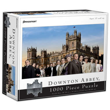 Downton Abbey 1000 pc Puzzle picture