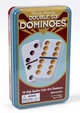 Double Six Color Dot  Dominoes (Tin)