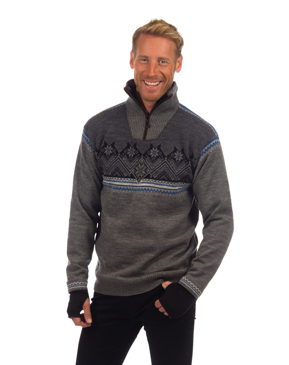 Glittertind Masculine Sweater WP