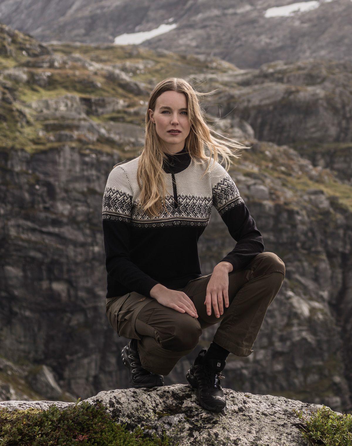 Hovden women's sweater (2)