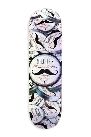 Death - Patrick Melcher Moustache Wax Deck picture
