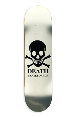Death - OG Skull White Deck picture