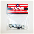 Tracker Pkg 4 axle nuts
