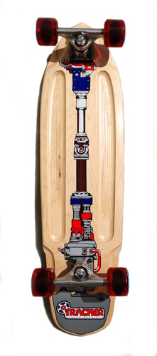 Drive Shaft Cruiser Complete w/60mm Eye Wheels and 129mm Darts picture
