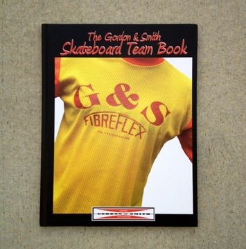 G&S skateboards History Skateboard team book picture