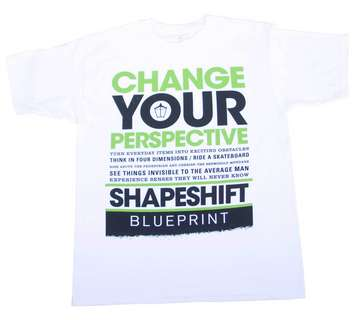 SHAPESHIFTER WHITE/GREEN-shirt picture