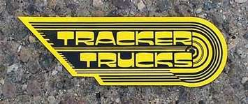 "Tracker 9"" Wing Sticker picture"
