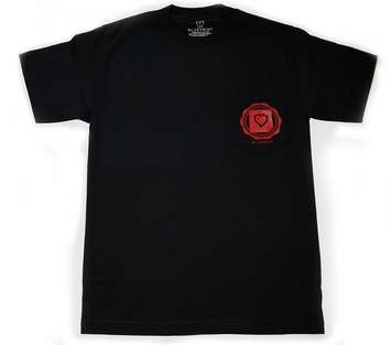 NEW LEAF - BLACK - T-shirt pocket picture