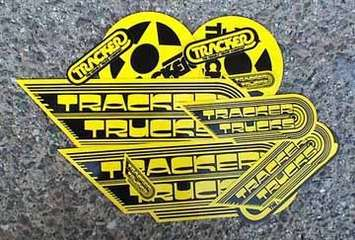 Tracker Assorted Sticker Pack picture