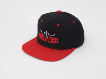 MIGHTY SNAPBACK BLACK/RED picture