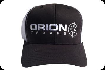 Lo-pro trucker Bar black w white mesh picture