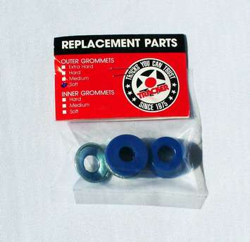 Tracker Top bushings soft Blue original NOS picture