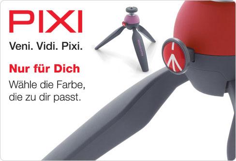 Das Mini-Stativ PIXI