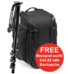 Free Monopod with any Backpack