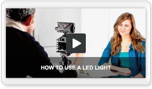HOW TO USE A LED LIGHT