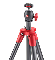 Compact Light Red Tripod