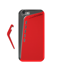 Manfrotto Red Case for iPhone 6 + kickstand