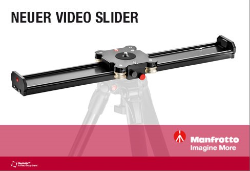 Manfrotto Video Slider