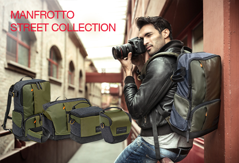 New Manfrotto Street Bag Collection