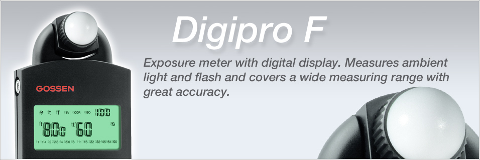 Gossen Digipro F