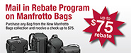Manfrotto Bags Mail-in Rebates