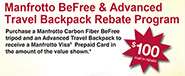 BeFree & Advanced Travel Backpack