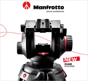 головка Manfrotto 504HD