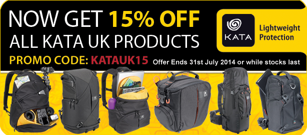 Special offer - now get 15% of all Kata UK products!