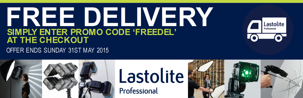 Free Delivery on all Lastolite UK products this May