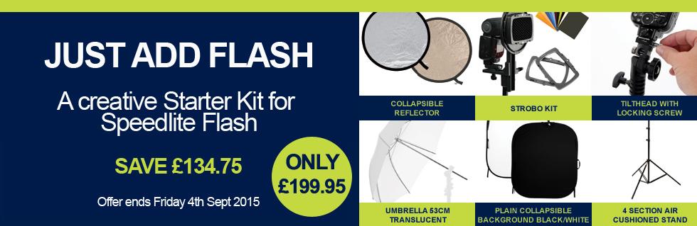 Just Add Flash Kit