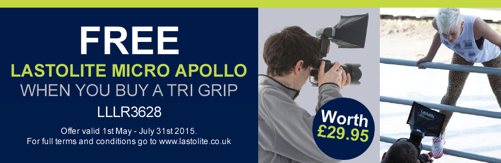 FREE Micro Apollo with the Tri-Grip