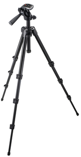 M-Y Compact Tripod with integrated 3-Way Aluminium Head