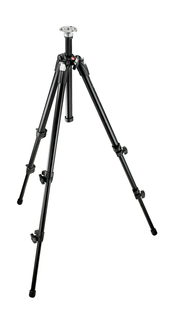 Black Alu. Tripod w/Thumb-Screw Leg Locks, w/o Leg Warmers