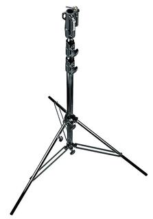 Heavy Duty Black Stand Air Cushioned w/Leveling Leg