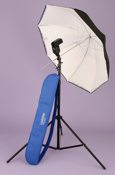 Umbrella Kit 40'' All-In-One, Umb. TiltHead, 367B Stand, Bag