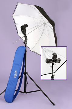 TriFlash Kit (40''/100cm umbrella, TriFlash & stand)